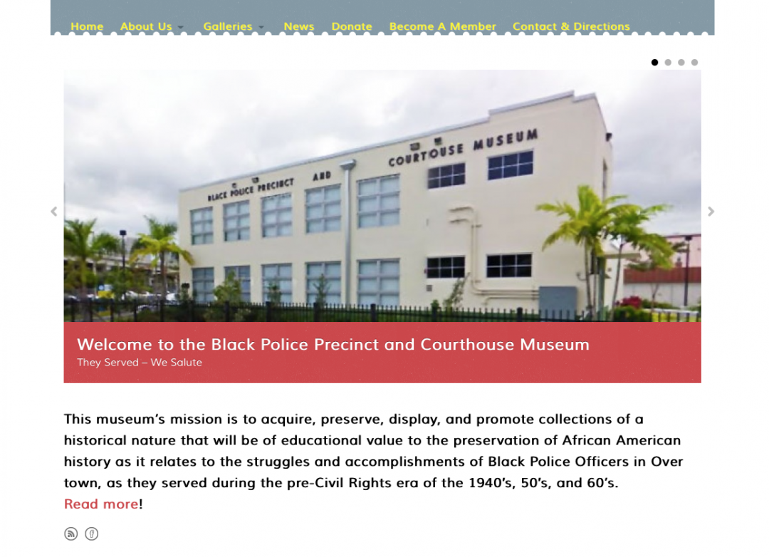Historical Black Police Courthouse and Museum