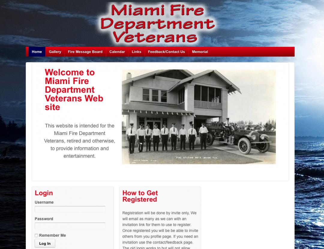 Miami Fire Department Vets