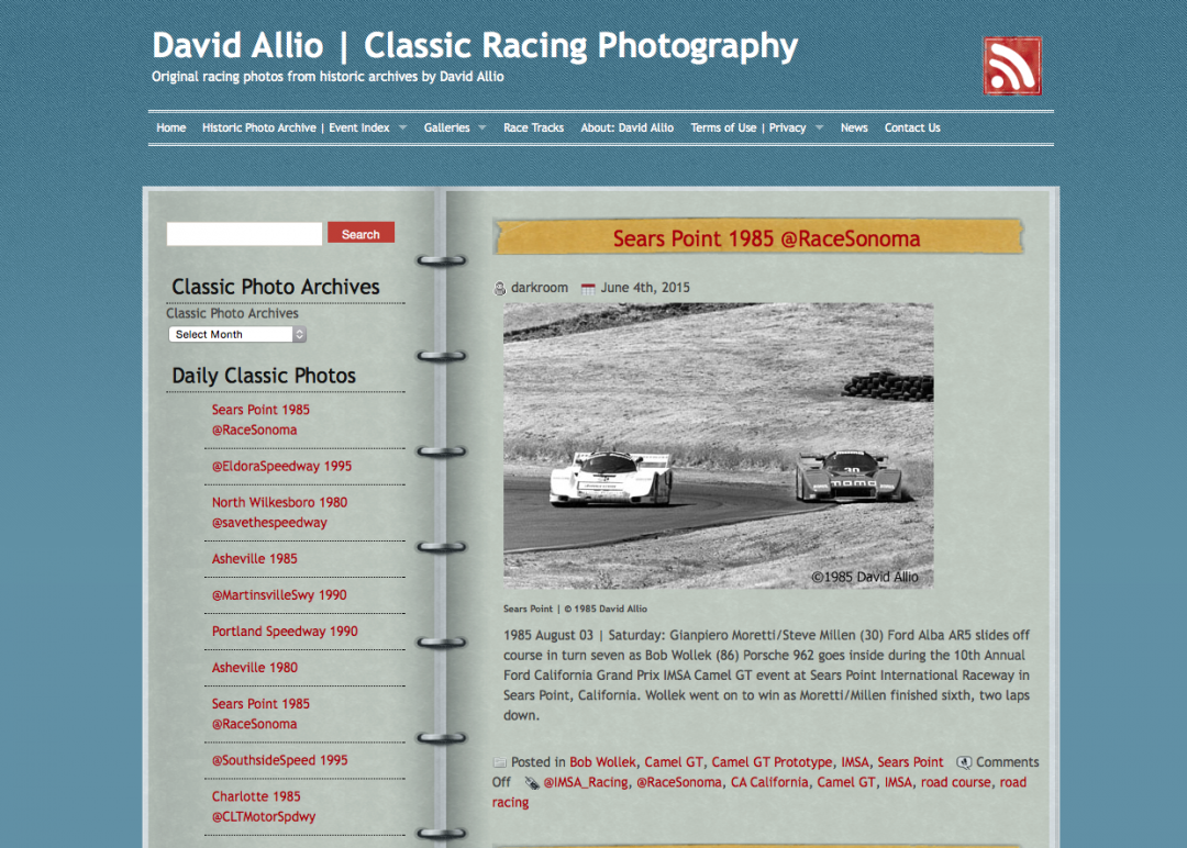 Racing Photo Archives