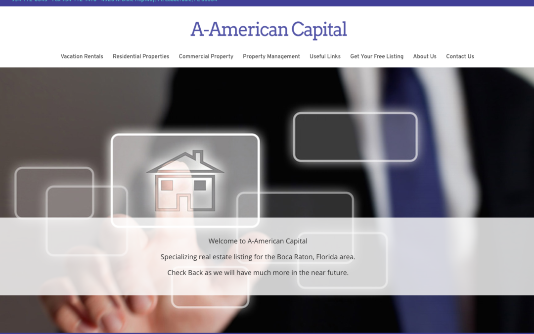 A-American Capital Real Estate