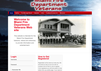 Miami Fire Department Vets
