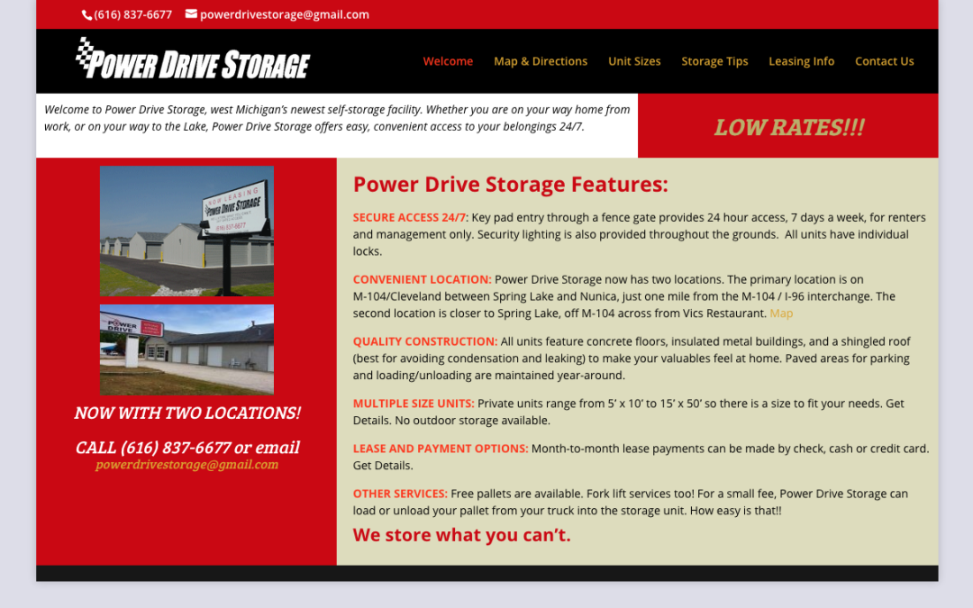 Power Drive Storage