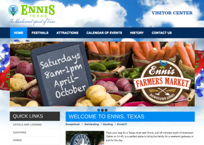 Ennis Convention and Visitors Bureau